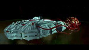 LEGO Force Awakens - Wii U Falcon