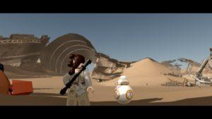 LEGO Force Awakens - Wii U Rey & BB8
