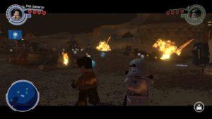 LEGO Force Awakens - Wii U gameplay