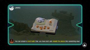 LEGO Force Awakens - Wii U multi build load screen