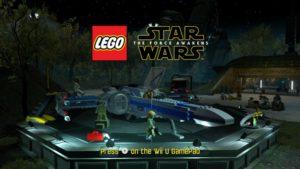 LEGO Force Awakens - Wii U title