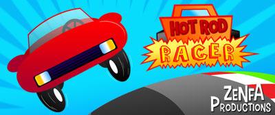 Hot Rod Racer - banner