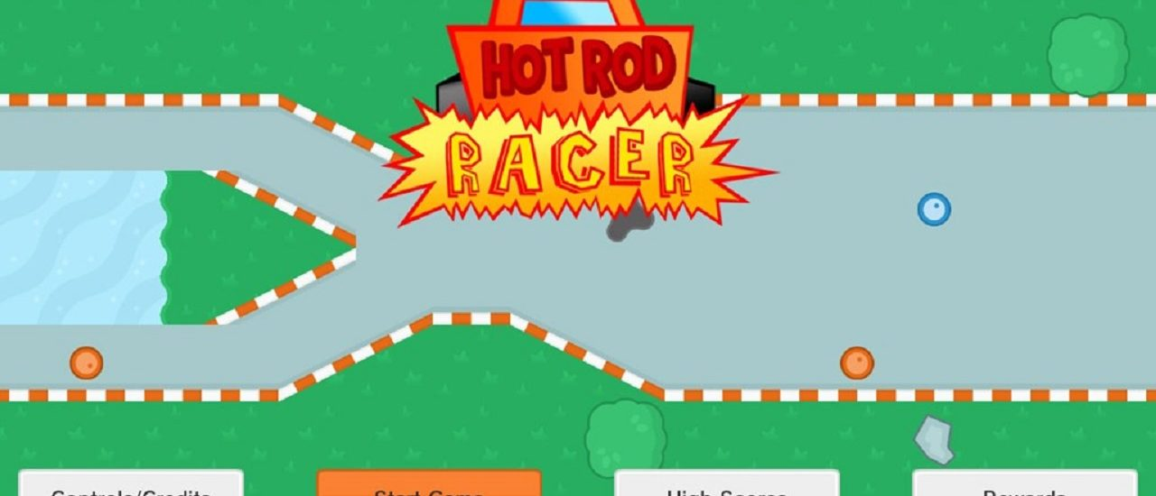 Hot Rod Racer - title