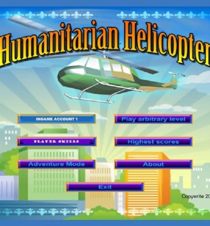 Humanitarian Helicopter - title