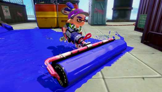 Splatoon update fixes roller issues