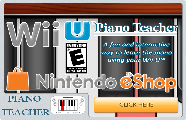 Piano Teacher Wii U