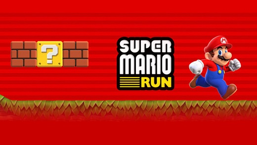 Super Mario Run stickers available from App store now