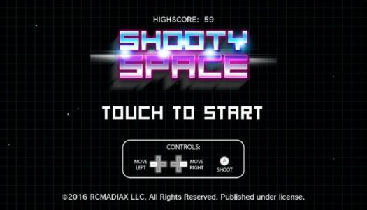 Mini-Review: SHOOTY SPACE (Wii U eShop)