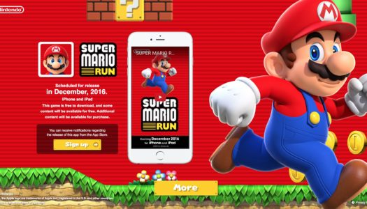 Nintendo Download Dec 15, 2016 – Super Mario Run, Excitebots, Mario and Luigi