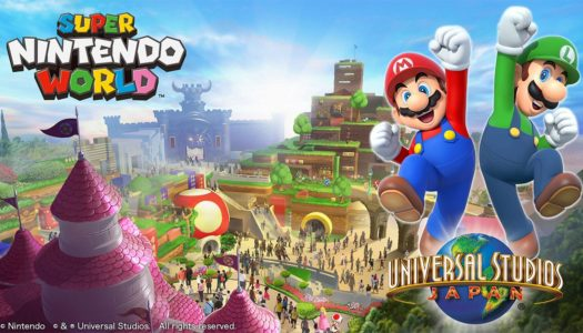 PR: Universal Studios Japan Unveils SUPER NINTENDO WORLD