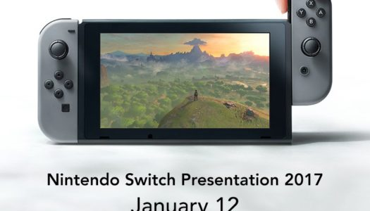 Watch the Nintendo Switch Presentation 2017 live on Jan. 12 at 8 p.m. PT / 11 p.m. ET