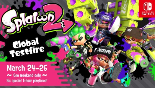 PR: Nintendo Switch Owners Get Free Preview of Splatoon 2 March 24-26