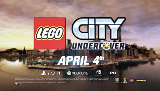 New LEGO CITY Undercover Trailer, Co-Op Announced, Launching April 4 on Nintendo Switch