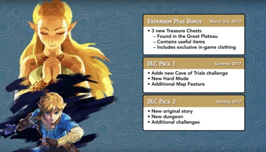 PR: Nintendo Prepares Downloadable Content for The Legend of Zelda: Breath of the Wild