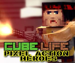 Cube Life Pixel Action Heroes Wii U