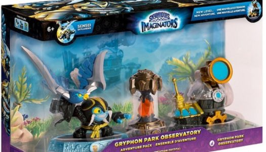 Review: Skylanders Imaginators – Gryphon Park Observatory Adventure Pack (Wii U / Switch)