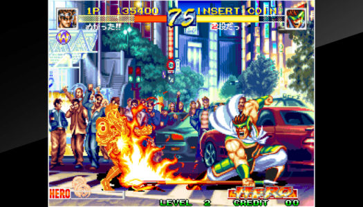Review: ACA NEOGEO WORLD HEROES PERFECT (Nintendo Switch)