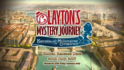 PR: Release Date and Title Announced For The Latest Addition to the Professor Layton Series