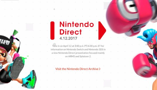 Purely Opinions: Nintendo Direct – April, 2017