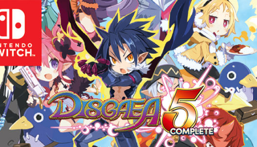 Check out the Disgaea 5 Complete trailer for Nintendo Switch