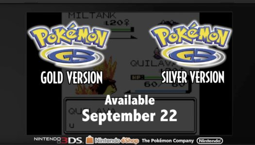 Pokémon Direct: Pokemon Gold and Silver coming to 3DS eShop on Sep. 22