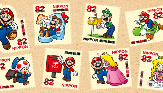 Mario postage stamps now available in Japan