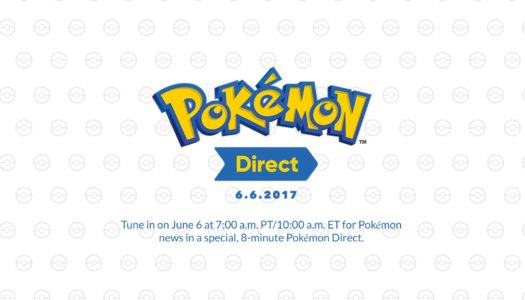 8-Minute Pokémon Direct Debuts Tomorrow, June 6