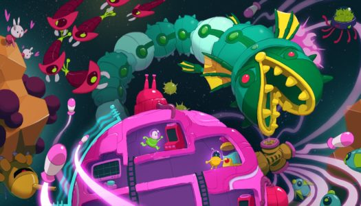 Lovers in a Dangerous Spacetime Launching on Switch on October 3