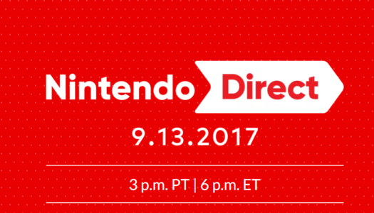 Nintendo Direct this Wednesday September 13 to focus on upcoming Switch and 3DS games