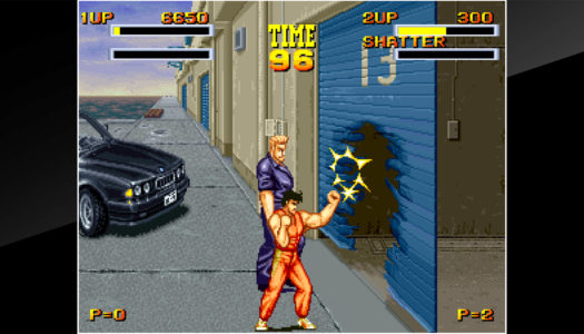 Review: ACA NEOGEO Burning Fight (Nintendo Switch)