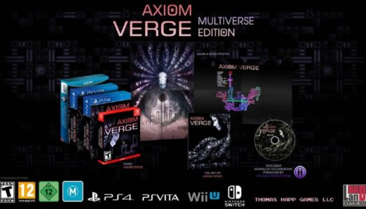 Axiom Verge Launching at Retail