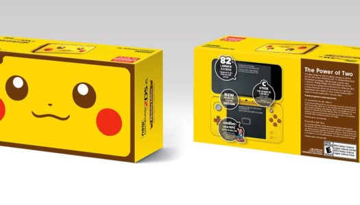 Pikachu Edition New 2DS XL coming this month