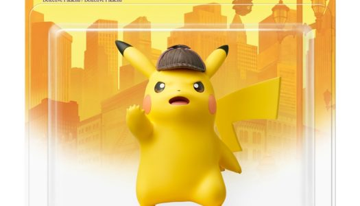 Take a look at the Detective Pikachu amiibo