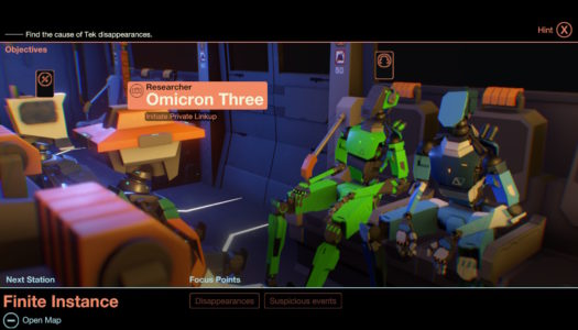 Mini-Review: Subsurface Circular (Nintendo Switch)