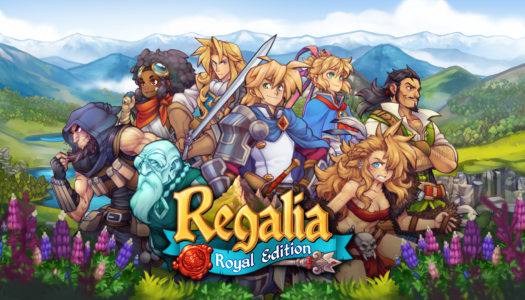 Modern JRPG Regalia is coming to the Nintendo Switch
