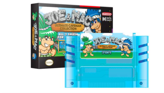 Retro-Bit announces Joe & Mac limited edition system