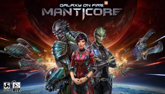 Review: Manticore: Galaxy on Fire (Nintendo Switch)