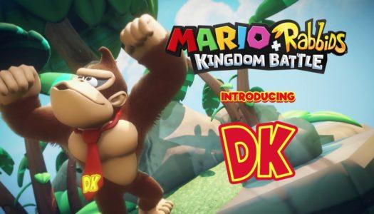 E3 2018: Mario + Rabbids Kingdom Battle: Donkey Kong Adventure Release Date Announcement