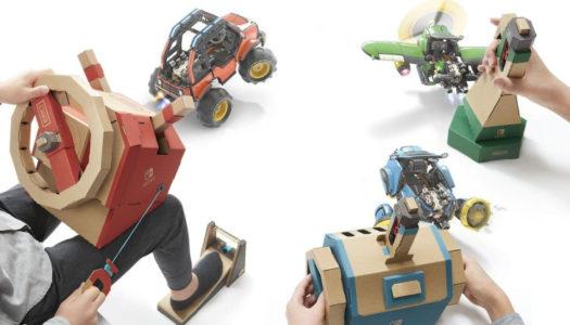 New Nintendo Labo Vehicle Kit announced