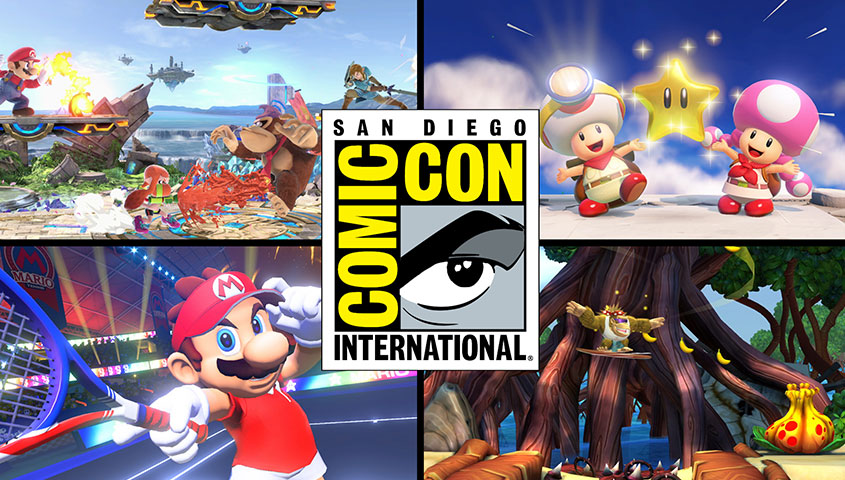Nintendo at San Diego Comic-Con