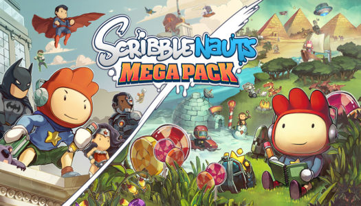Scribblenauts Mega Pack launching this September