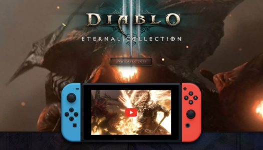 Diablo III Eternal Collection Announced for Nintendo Switch