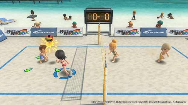 Go Vacation beach volleyball
