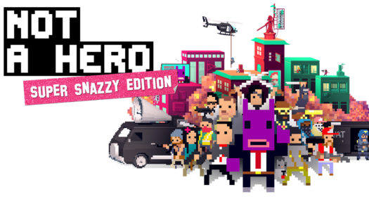 Review: Not a Hero (Nintendo Switch)