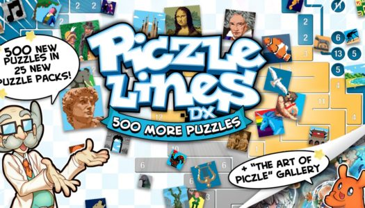Review: Piczle Lines DX 500 More Puzzles (Nintendo Switch)