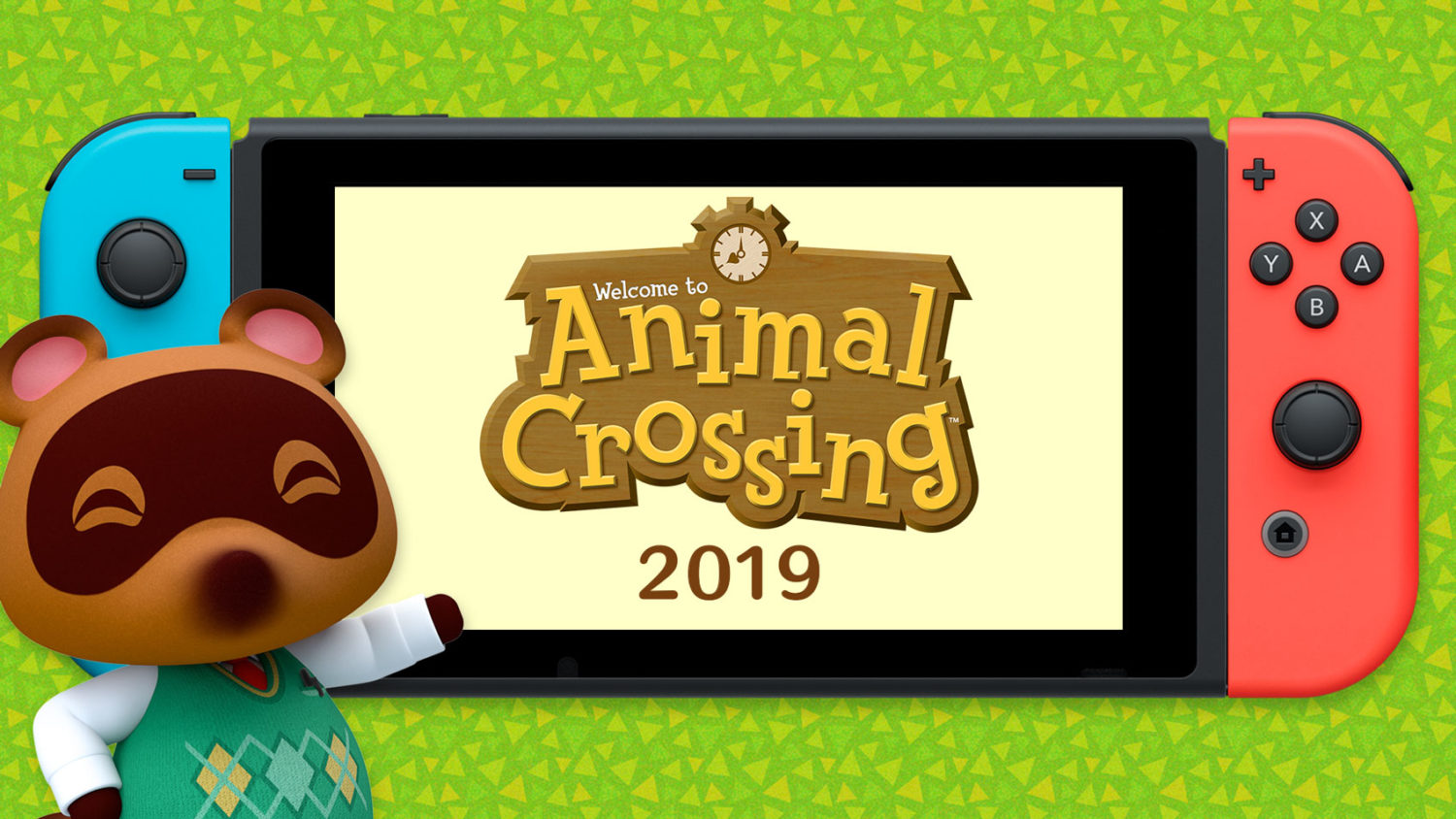 Animal Crossing Switch - Nintendo Direct