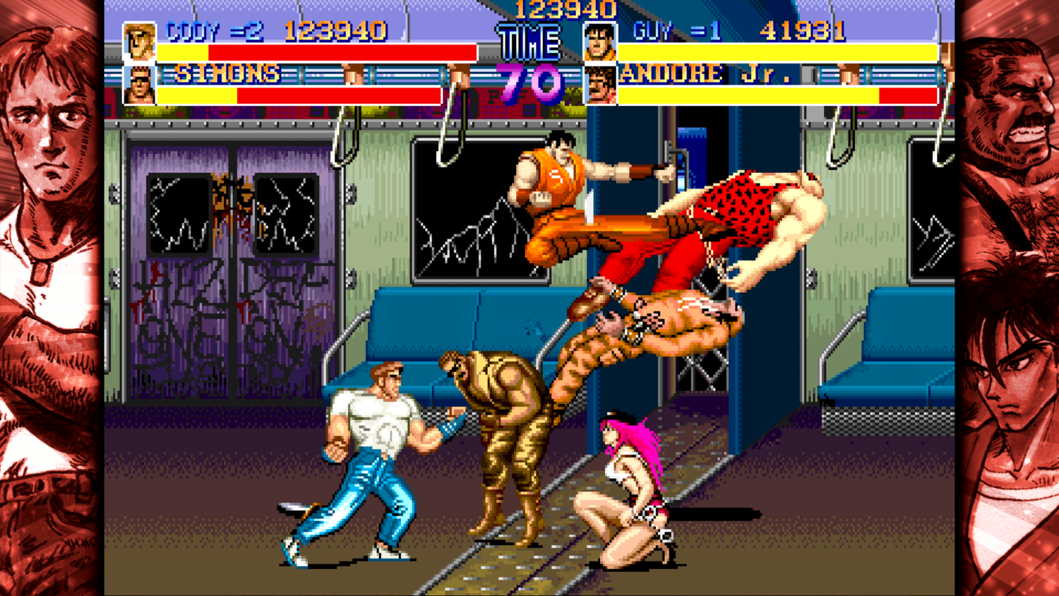 Capcom Beat 'Em Up Bundle - Final fight