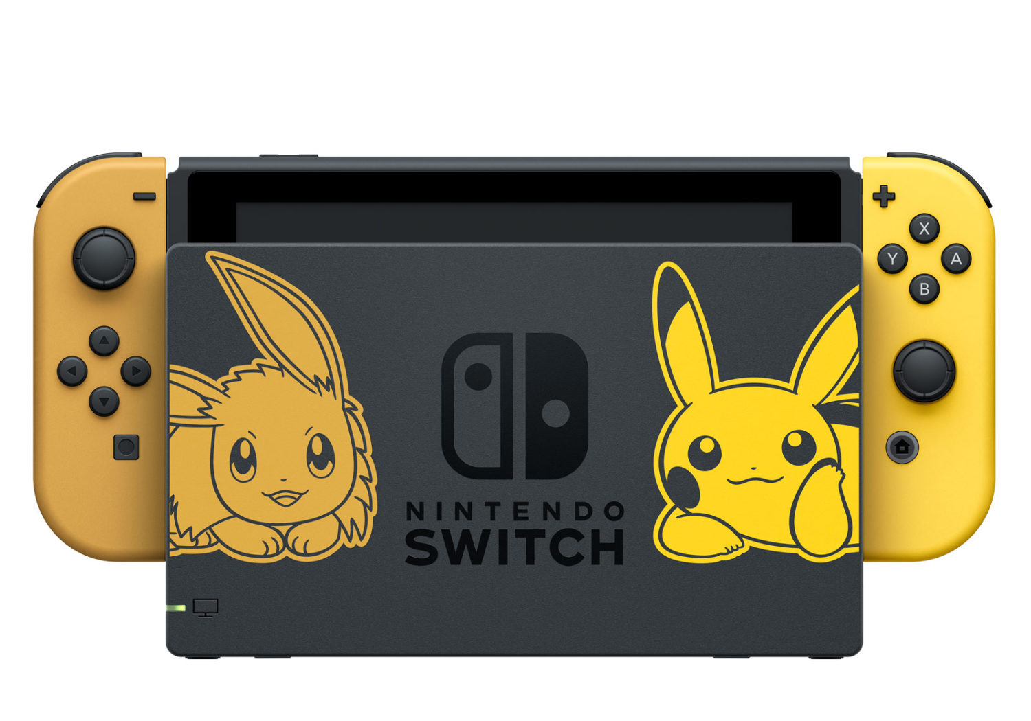 Pokemon Let's Go Pikachu - Let's Go Eevee - Console and Dock