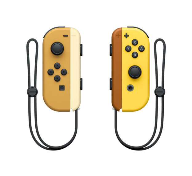 Pokemon Let's Go Pikachu and Eevee Joy-Cons