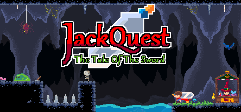 JackQuest title screen